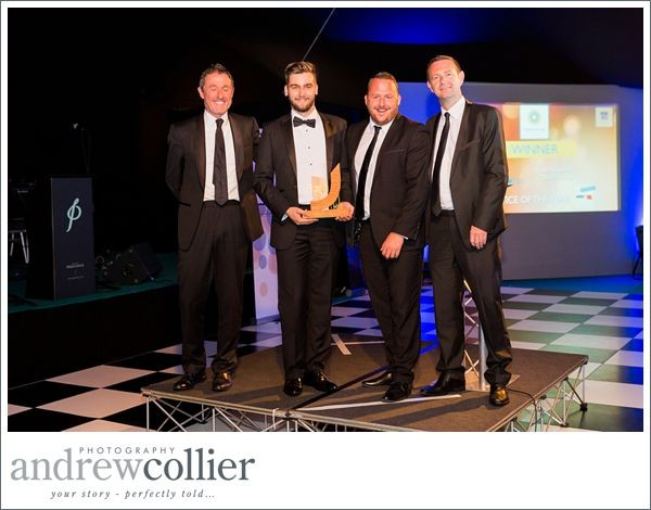 Lewis Haworth of Optionis Group voted Apprentice of the Year | Warrington Business Awards 2015