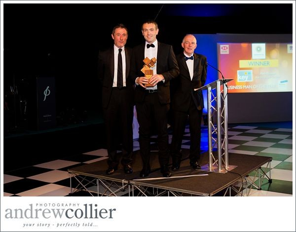 Mark Poulton of Key Integrated Services voted Business Man of the Year | Warrington Business Awards 2015