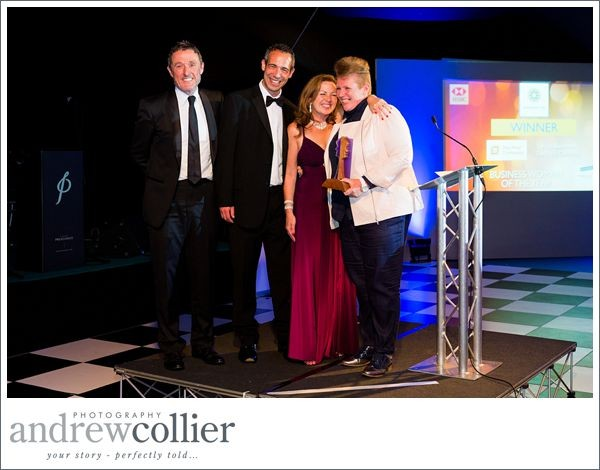 Vicki Swinden of The Print Company voted Business Woman of the Year | Warrington Business Awards 2015