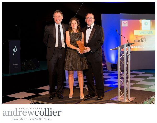 Qudos Marketing voted New Business Startup of the Year | Warrington Business Awards 2015