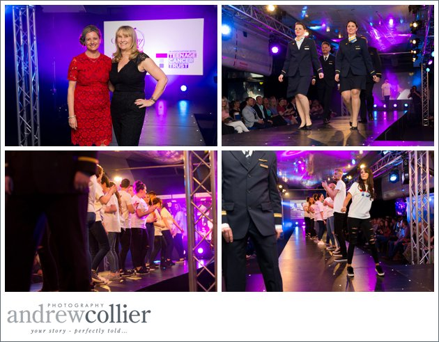 Catwalk event for the Teenage Cancer Trust