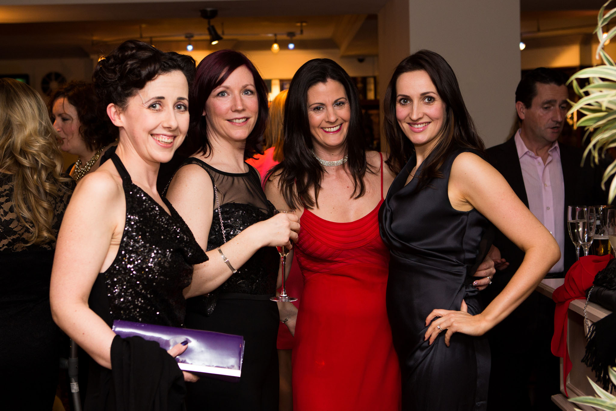 Photograph of guests enjoying a family celebration in Knutsford, Cheshire
