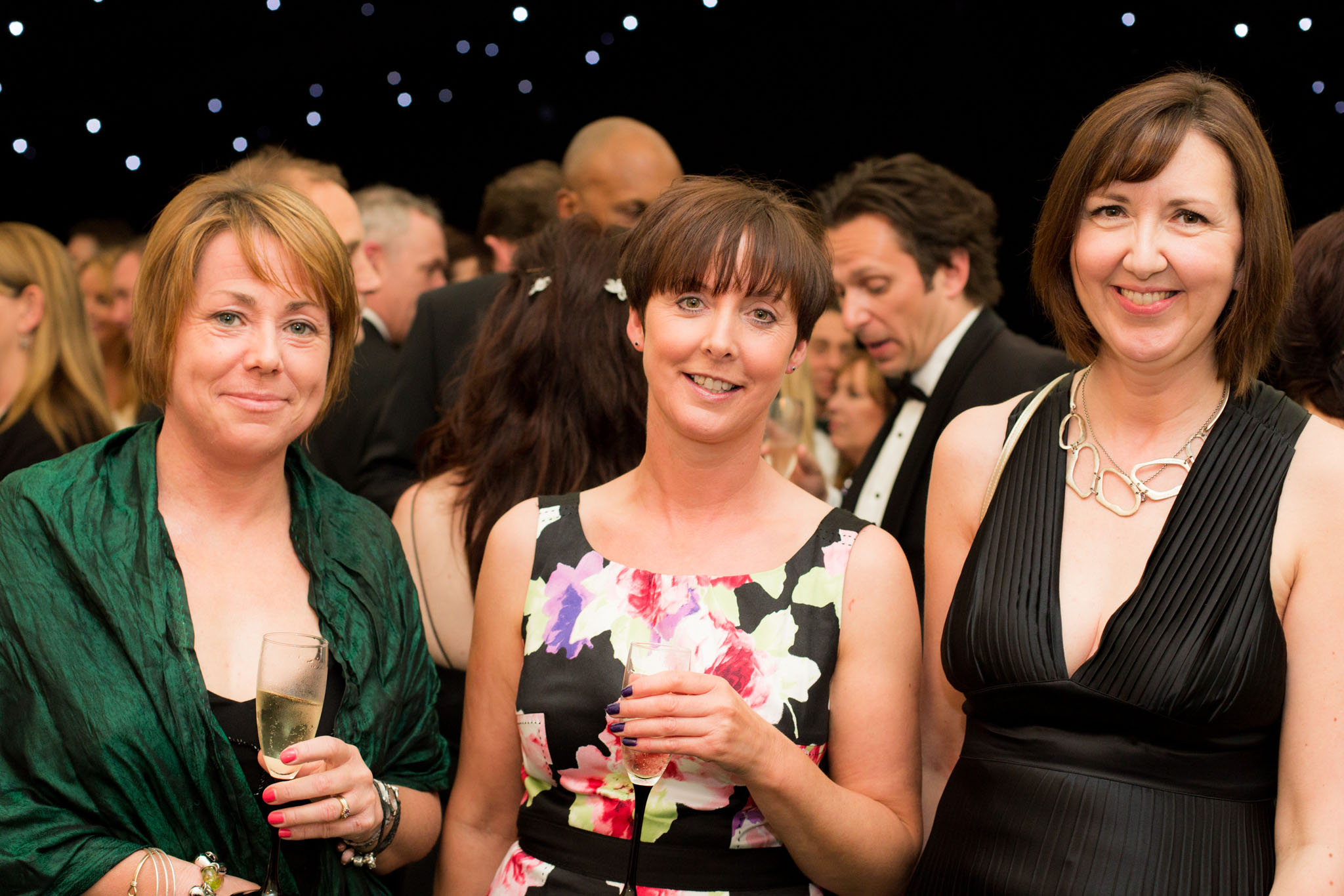 Photograph of guests enjoying a family celebration in Alderley Edge