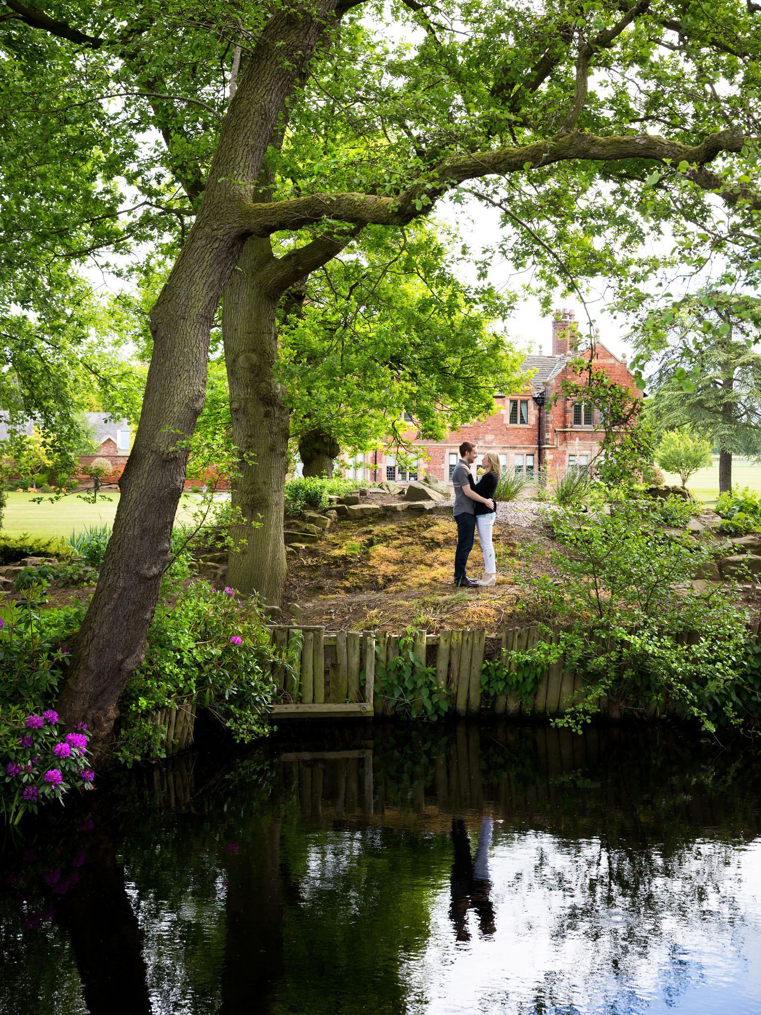 Prewedding shoot at Colshaw Hall, Cheshire by Cheshire wedding photographer Andrew Collier Photography