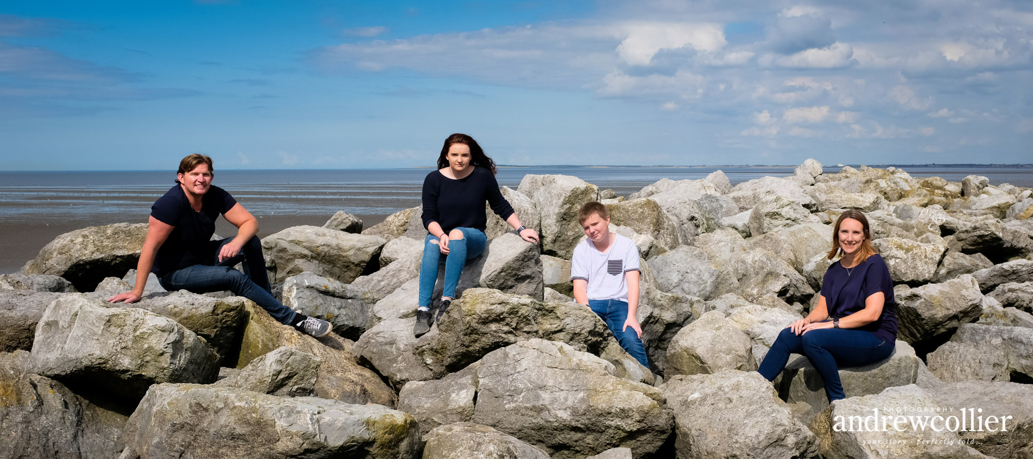 Summer family portraits on the Wirral Peninsula, Merseyside