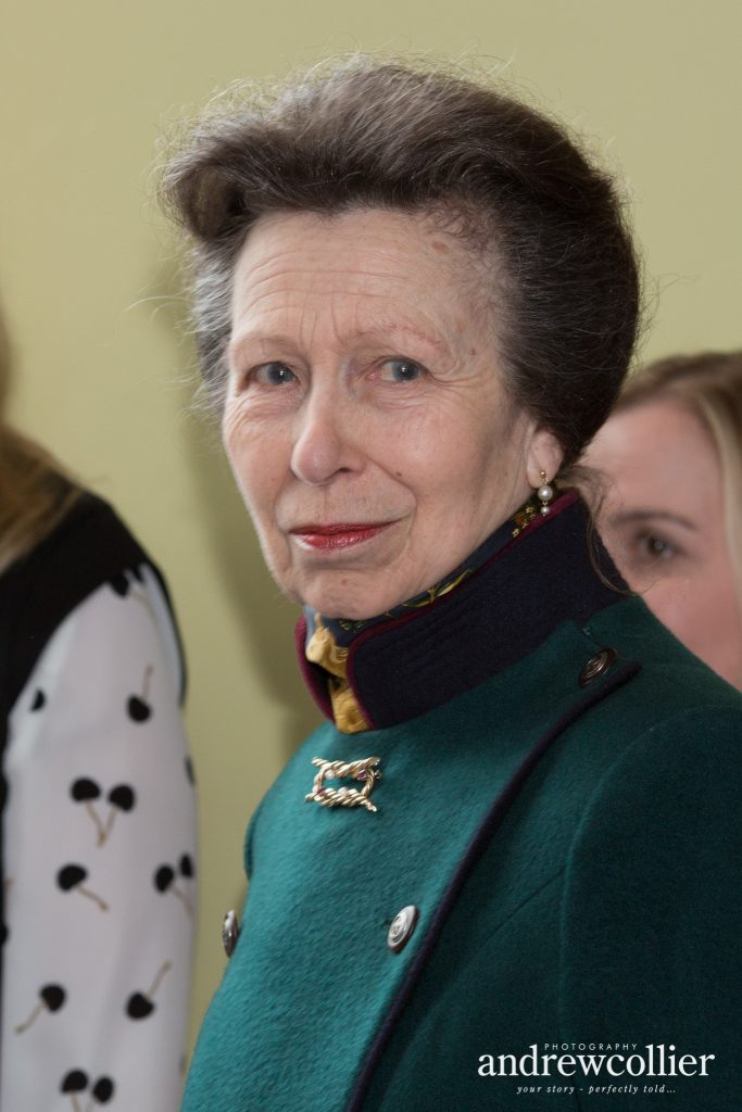 HRH The Princess Royal at the Tim Parry & Johnathan Ball Peace Foundation, Warrington, Cheshire