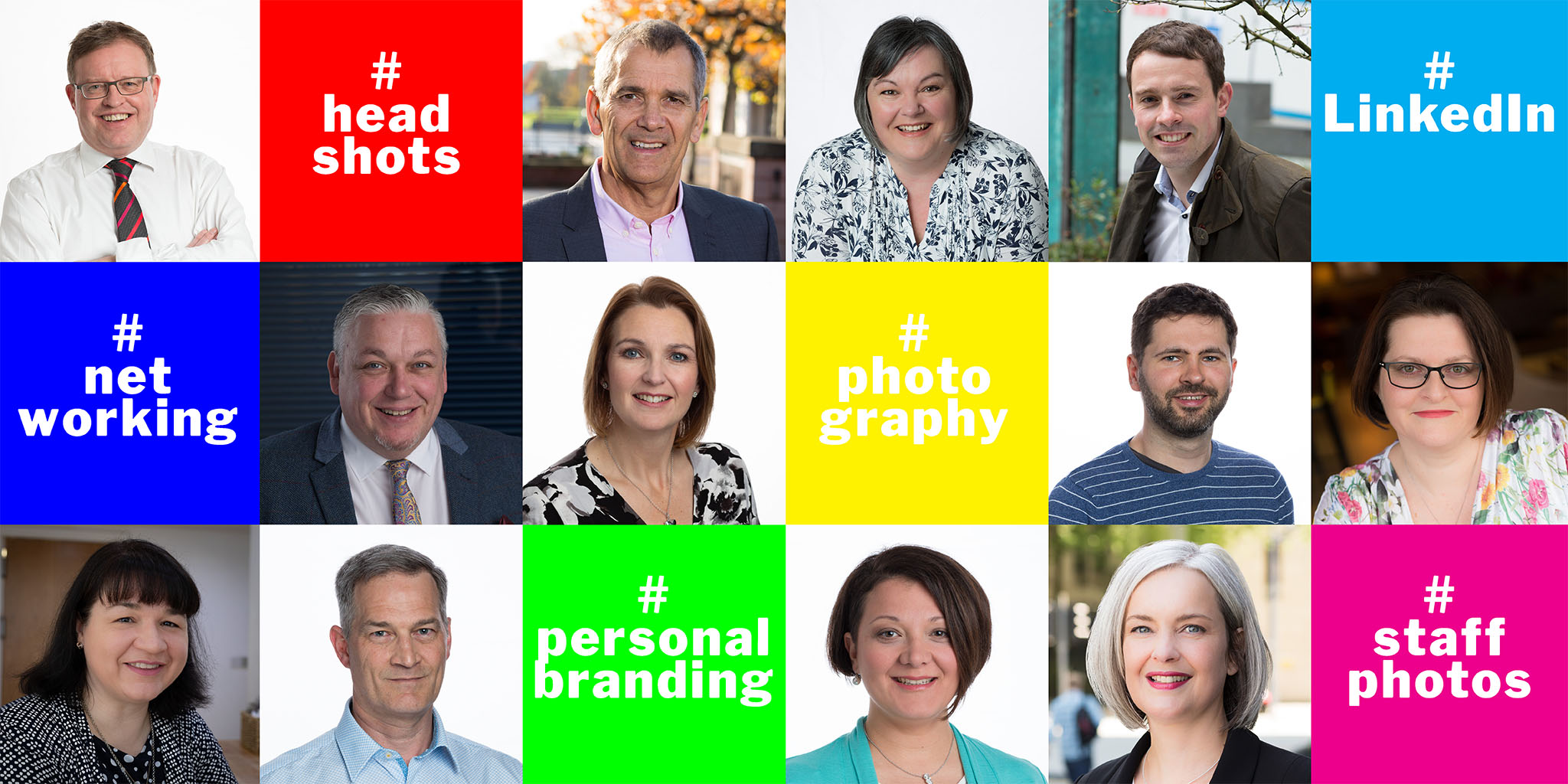 Business portraits, headshots, staff photos
