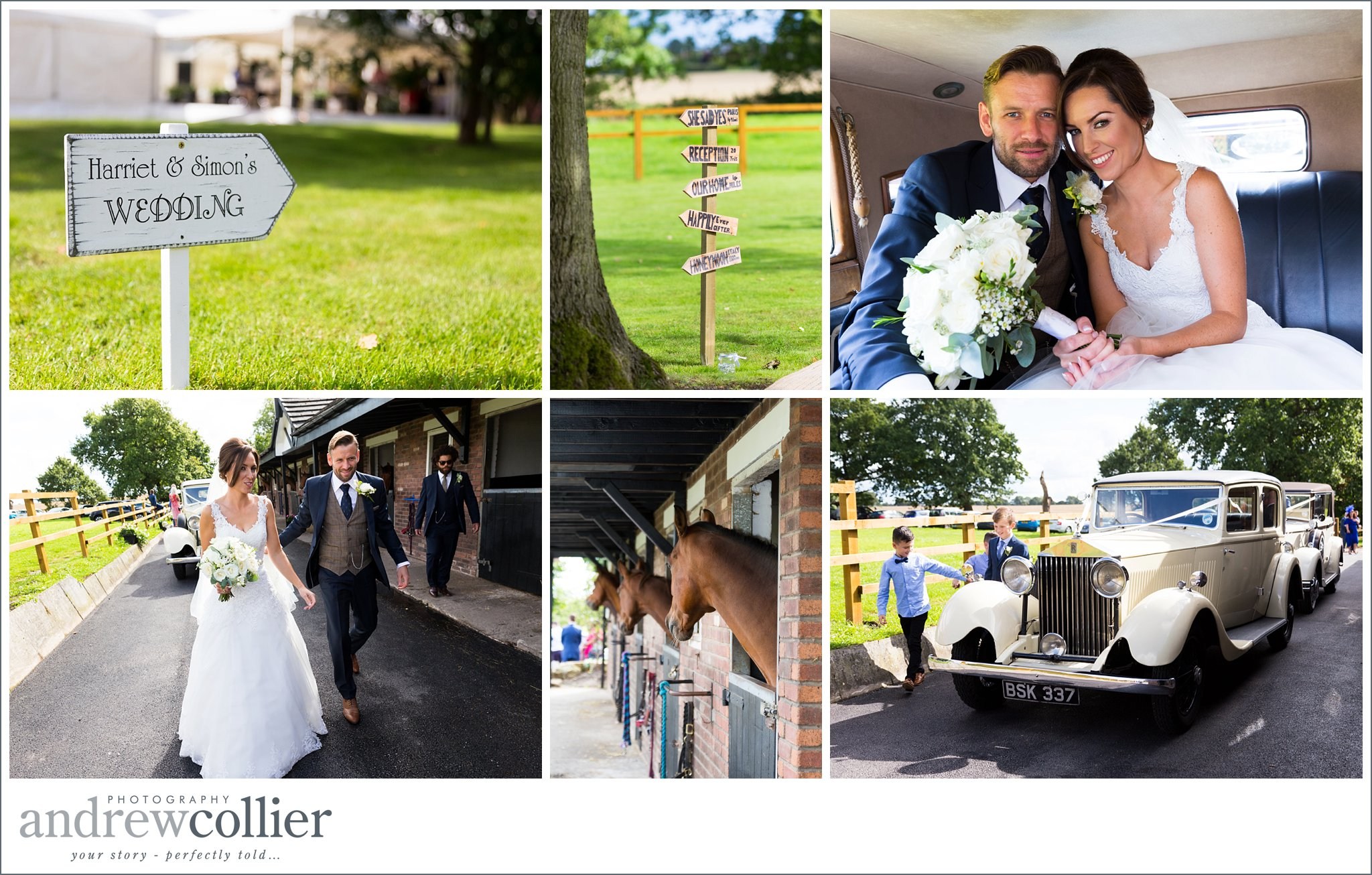 Andrew Collier Photography tells the story of your big day