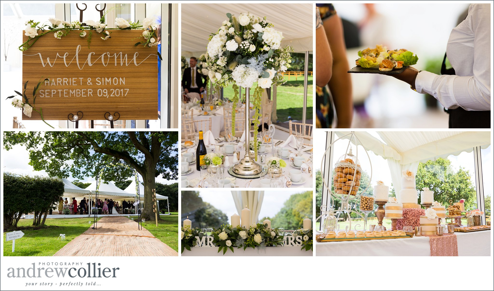 Capturing the details of your wedding - Andrew Collier Photography