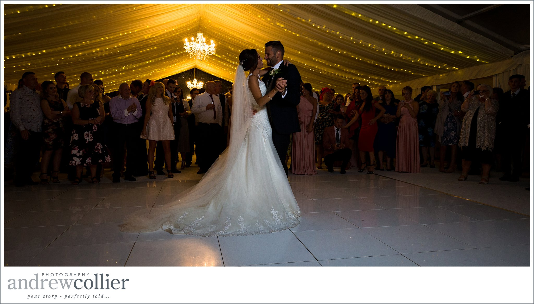 The first dance by Andrew Collier Photography