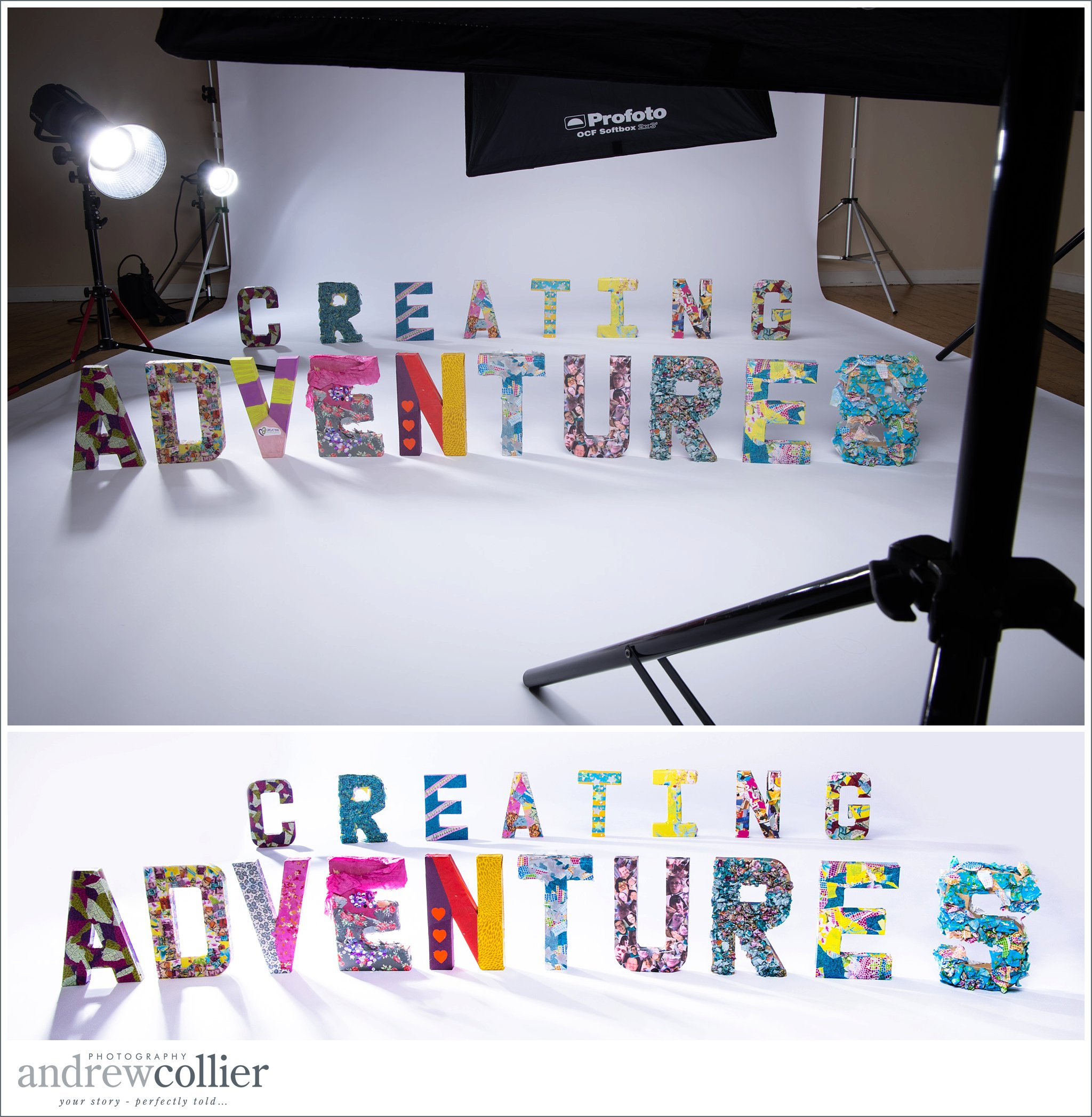 Brand photography for Cheshire Charity Creating Adventures