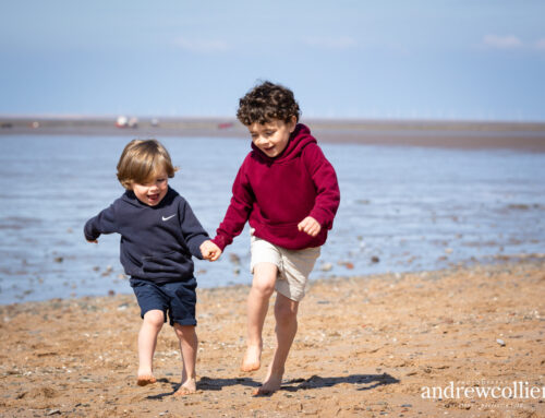 Family portraits at the beach | Wirral